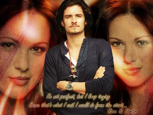 Vampire Academy - Rose & Dimitri