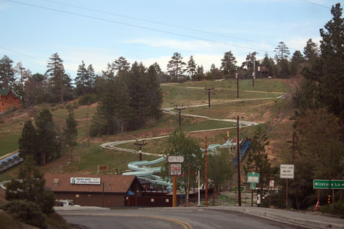 Big Bear Lake - Alpine Slide at Magic Mountain