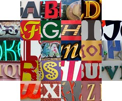 Letters between letters