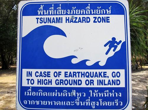 Tsunami Evac Plan