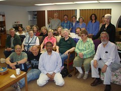 Instructor Iftekhar Hussain with Grove United Methodist Church Course Participants