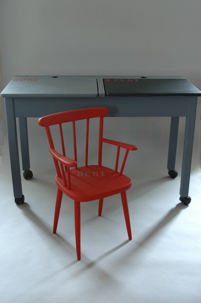 Work Rest and Play Desk Set