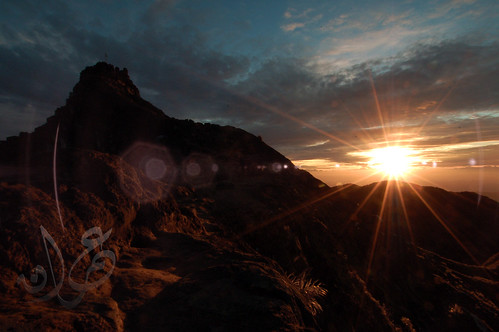 Sunrise @ Mount Sibayak