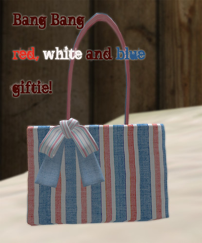 Bang Bang - red, white and blue gift