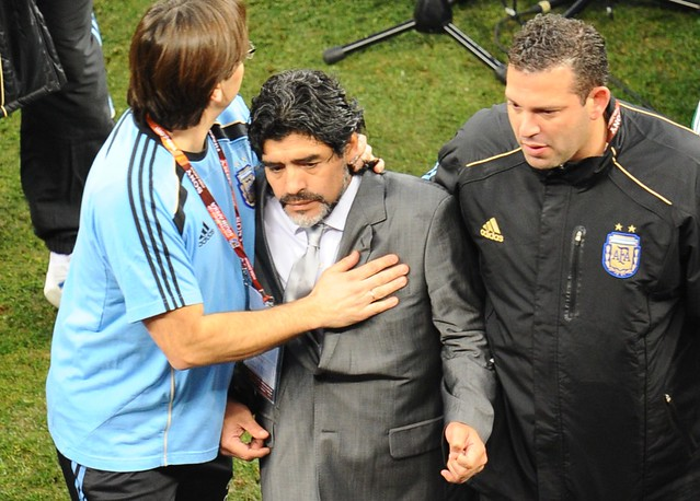 Mundial Argentina Alemania Diego Maradona