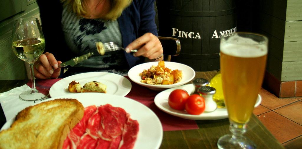 Dejeuner catalan - Catalan dinner