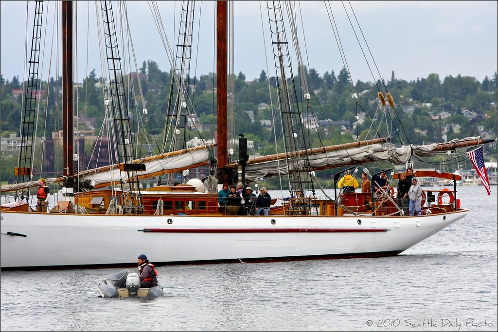 The Schooner Adventuress
