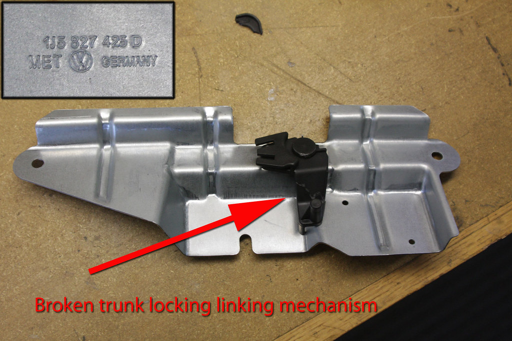 Jury Rigged Trunk Mechanism For 2001 Vw Jetta Tdi My