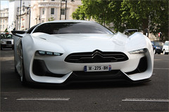 Citroen GT Cruising! (Alex Penfold) Tags: road street uk england white london cars alex sports car canon french photography eos photo crazy cool image britain awesome great citroen picture fast grand super spot exotic photograph prototype spotted hyper concept gt turismo supercar spotting exotica sportscar 2010 penfold hypercar 450d hpyer
