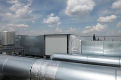 Klner Dom (LichtEinfall) Tags: panorama rooftop dom technik kln dach kranhaus raperre b406domaus800