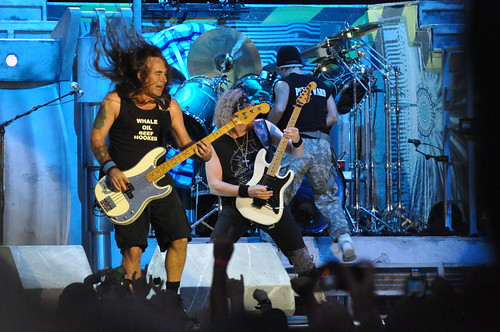 Iron Maiden at Ottawa Bluesfest 2010