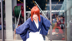 Japan Expo 2010 Cosplay - Mini Shoot - (Omarukai) Tags: anime cute japan cosplay awesome kawaii 5d kenshin canoneos je tomoe rurounikenshin 135l 35l 35mm14 ef35mm14l ef135mmf20 5dclassic japanexpo2010 je2010 battousaimanga