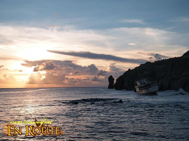 M/V Legaspi Shipwreck near Basco Port