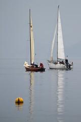 Yacht Racing, Lake Iseo, Italy (doublejeopardy) Tags: travel summer people italy season boat sailing yacht racing crew sailor iseo lagodiiseo kartpostal holiday2010