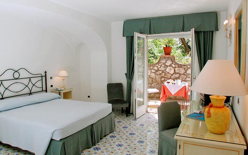 Hotel Canasta, Capri, Italy, Bedroom