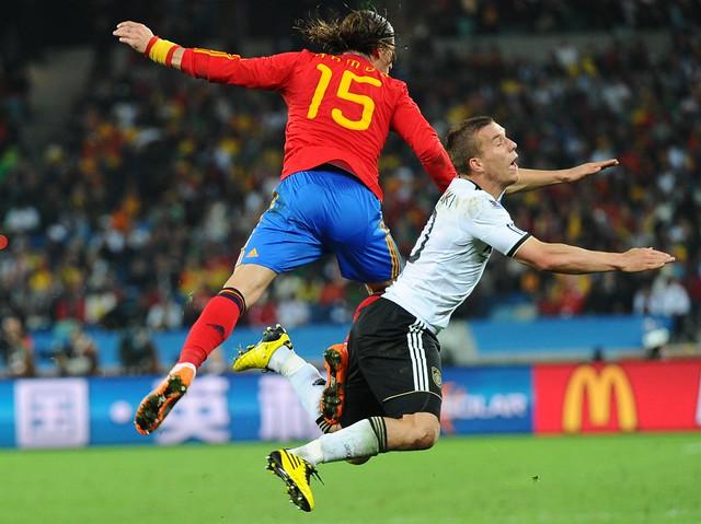 España Alemania Semifinal Mundial Sergio Ramos