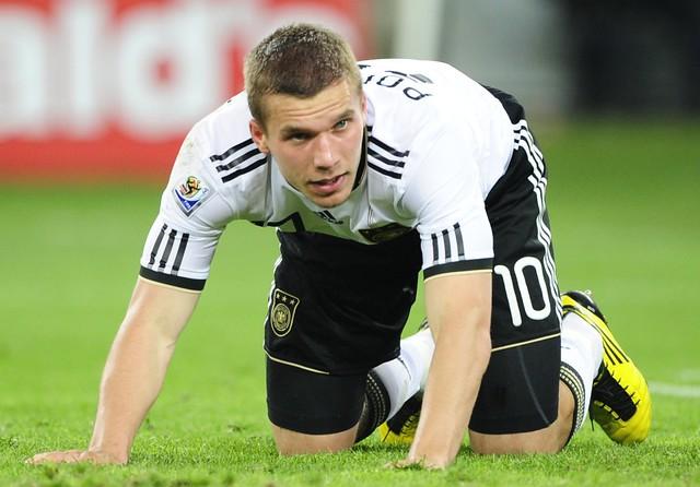 España Alemania Semifinal Mundial Lukas Podolski