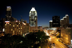 Austin Skyline at night: Frost Tower