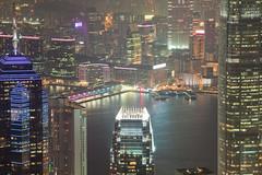 The Peak View (rafaelfco) Tags: city red streets garden golden head turtle peak hong kong budda buda