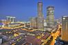 Citiscape of Singapore update (williamcho) Tags: bluehour d300 imagesofsingapore photosofsingapore williamcho marinabaysingaporeorientalmandarintourismattractioncasinohotelentertainmentclubsloungeshoppingtheshoppesmall