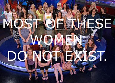 The Daily Show Women do not exist