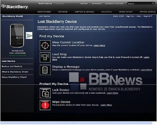 Blackberry shield