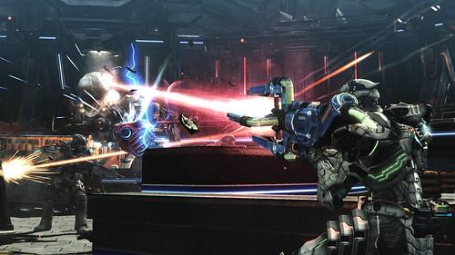 Vanquish - Laser Cannon