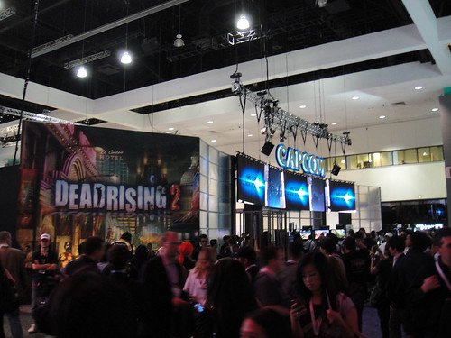 E3 2010 Capcom Dead Rising 2 booth