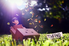 Celebration 365/365 (willycoolpics.) Tags: dof sad bokeh awesome theend confetti tired finished done magical completed picnik ending miura itsover danbo 365365 danboard imnotthebestwhenitcomestolongdescriptions tagwhatyoufeelfromthisphoto