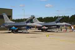 91-0360 & 91-0361 - US Air Force - Lockheed F-16CJ Fighting Falcon - 100704 - Waddington - Steven Gray - IMG_6139