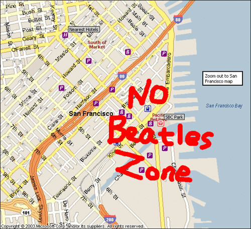 No Beatles Zone