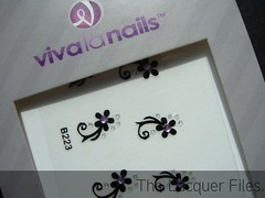 Viva La Nails Flowers Nail Art Stickers