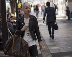 louis vuitton punk (jinkusu) Tags: tokyo punk rocker harajuku 日本 東京 omotesando louisvuitton パンク 原宿 表参道 ルイビトン