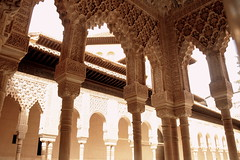 Der Palacio Real, Alhambra, Andalusien