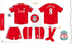 Liverpool home kit 2010/2011 (7football) Tags: shirt illustration liverpool football 8 gerrard illustrator adidas futbol vector maillot 2010 calcio 1011 maglia adobeillustrator standardchartered premierleague trikot 2011 illustrazione vettoriale 201011 europaleague 20102011