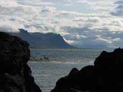 Snaefellsnes Penninsula, near Kjalarnes, Iceland. Black lava in the foreground. (Jeff Wardeska) Tags: iceland absolutelystunningscapes snaefellsnespenninsula