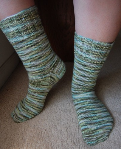 FO: Quinault Canopy socks