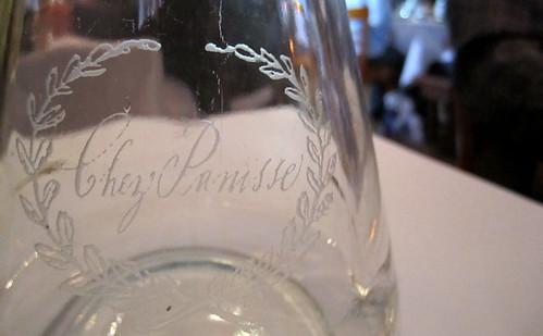 Water carafe at Chez Panisse