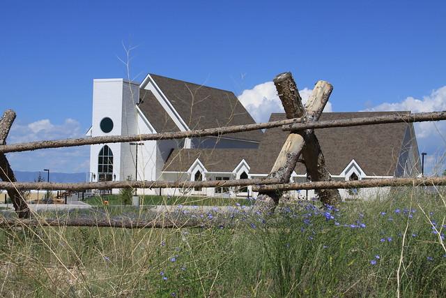 Big church in Laramie
