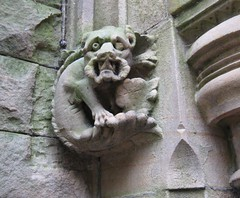 alston hall gargoyle2