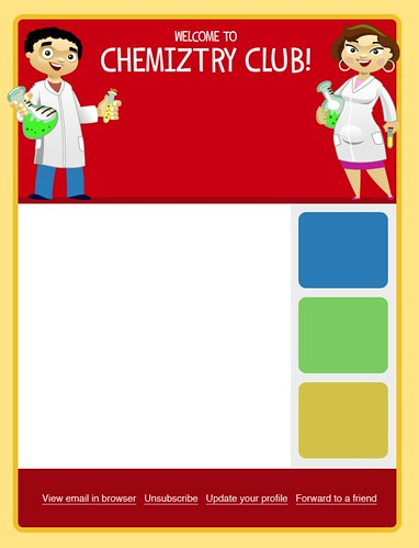 Chemiztry Club Email Template