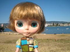 Sesame at the Lake