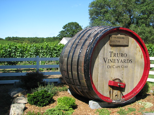 Truro Vineyards Barrel