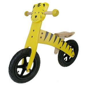 M-Wave Child's Wooden Running Bike (Tiger)