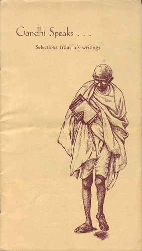 10 Gandhi Speaks pamphlet