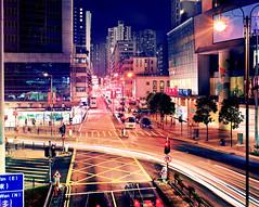 Hong Kong #40 -drumscan (Thomas Birke) Tags: china road urban film analog shopping hongkong kodak district 8x10 300mm residential largeformat p2 citywalk sinar schneiderkreuznach ektar lightstream tsuenwan 56300 densitiy aposymmarl shatsuiroad