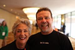 Kathleen Bonham and Brad Andersohn