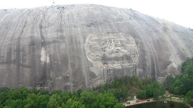 Stone Mountain from afar