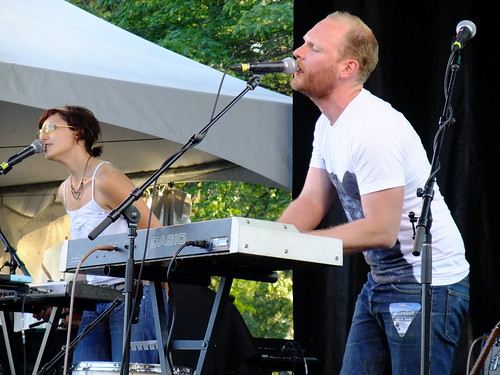 Rural Alberta Advantage at Ottawa Bluesfest 2010