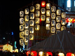 Night Festival (love_child_kyoto) Tags: leica travel summer kyoto  tradition  olympuspen  worldheritage     nightfestival  tsukihoko        gionmatsurifestival ernstleitzwetzlar microfourthirds  summarf5cm12  15jul2010  gettyvacation2010